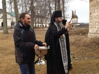 Фото: Александро-Ошевенский монастырь.